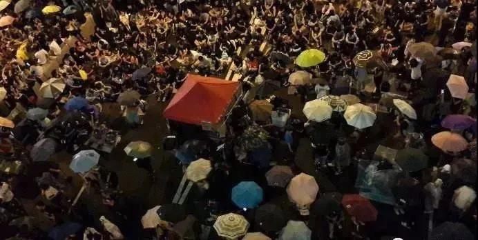 香港占中事件